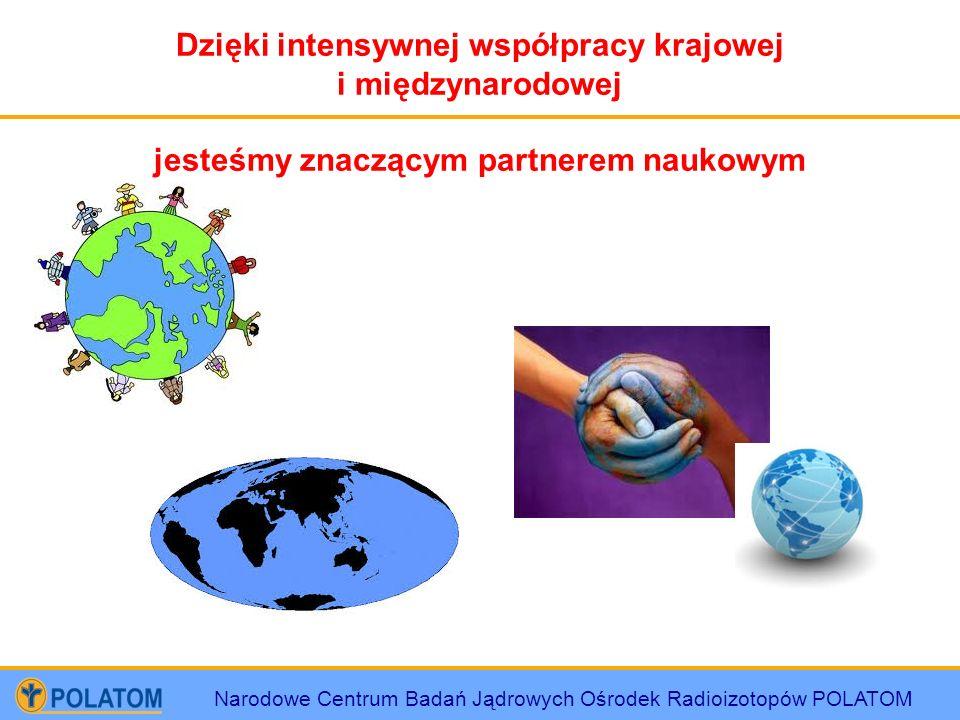Dzięki intensywnej współpracy krajowej i międzynarodowej
