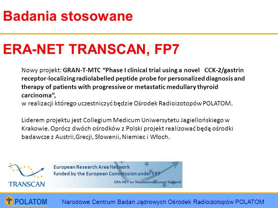Badania stosowane ERA-NET TRANSCAN, FP7