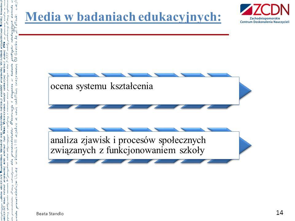 Media w badaniach edukacyjnych: