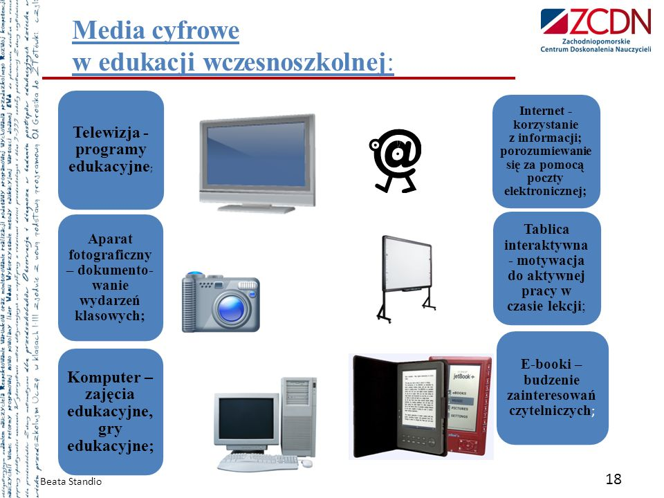 Media cyfrowe w edukacji wczesnoszkolnej: