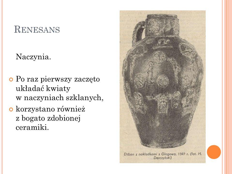 Renesans Naczynia.