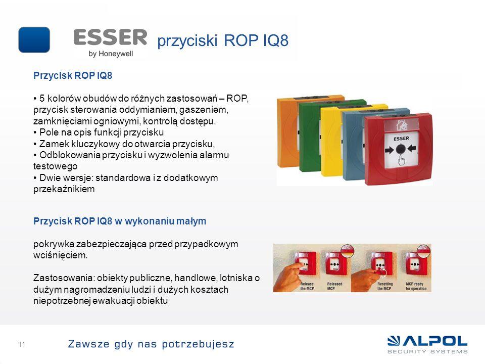przyciski ROP IQ8 Przycisk ROP IQ8