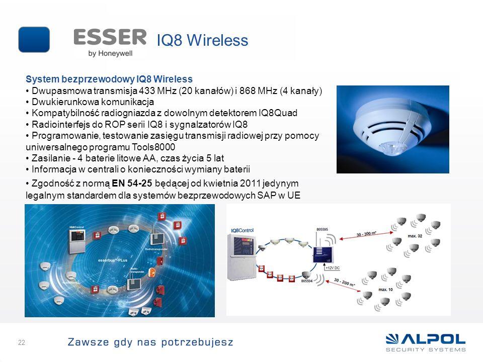 IQ8 Wireless System bezprzewodowy IQ8 Wireless