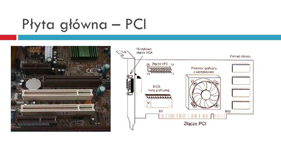Płyta główna – PCI