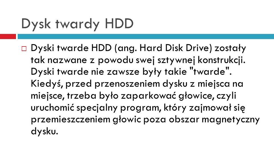 Dysk twardy HDD