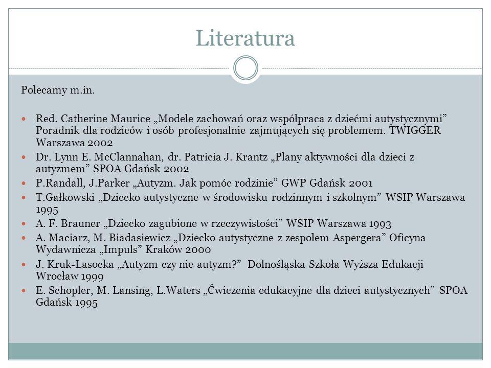 Literatura Polecamy m.in.