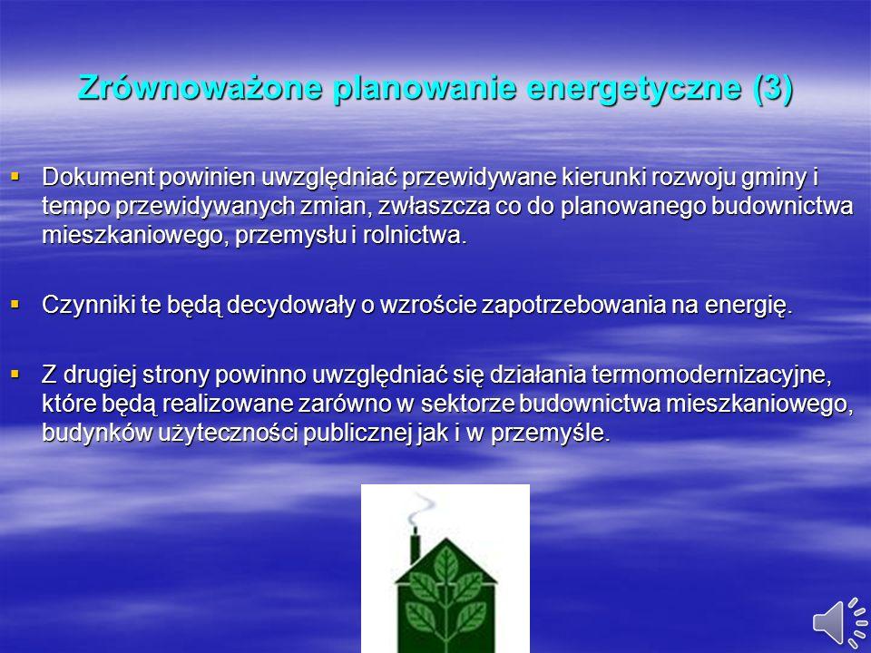 Zrównoważone planowanie energetyczne (3)