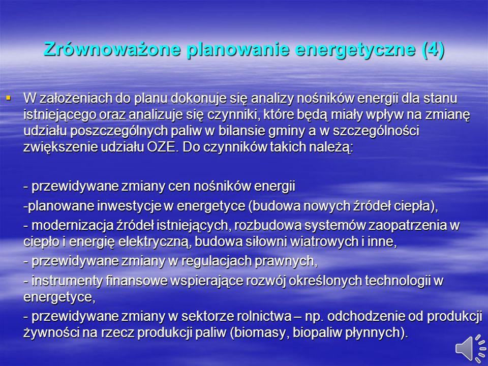 Zrównoważone planowanie energetyczne (4)