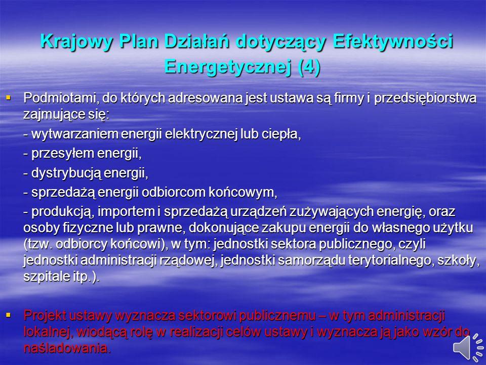 Krajowy Plan Działań dotyczący Efektywności Energetycznej (4)