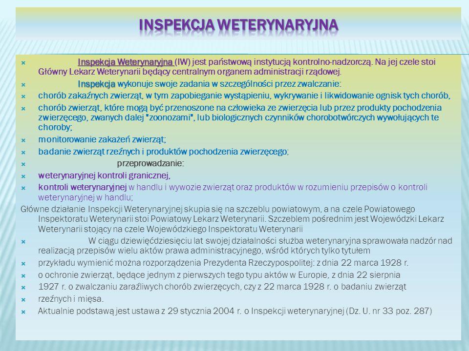 Inspekcja Weterynaryjna