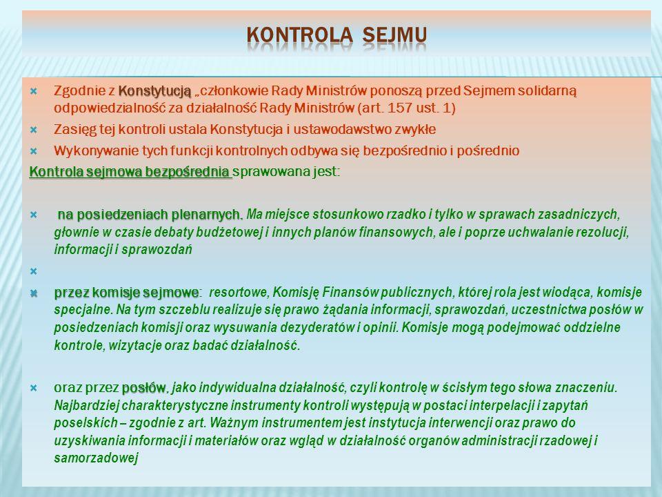 Kontrola Sejmu