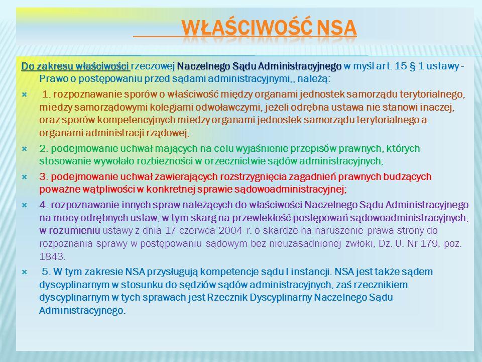 Właściwość NSA