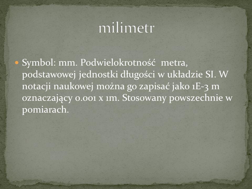 milimetr