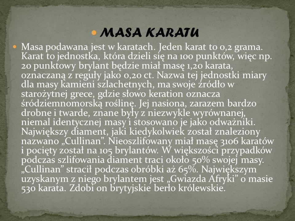 MASA KARATU