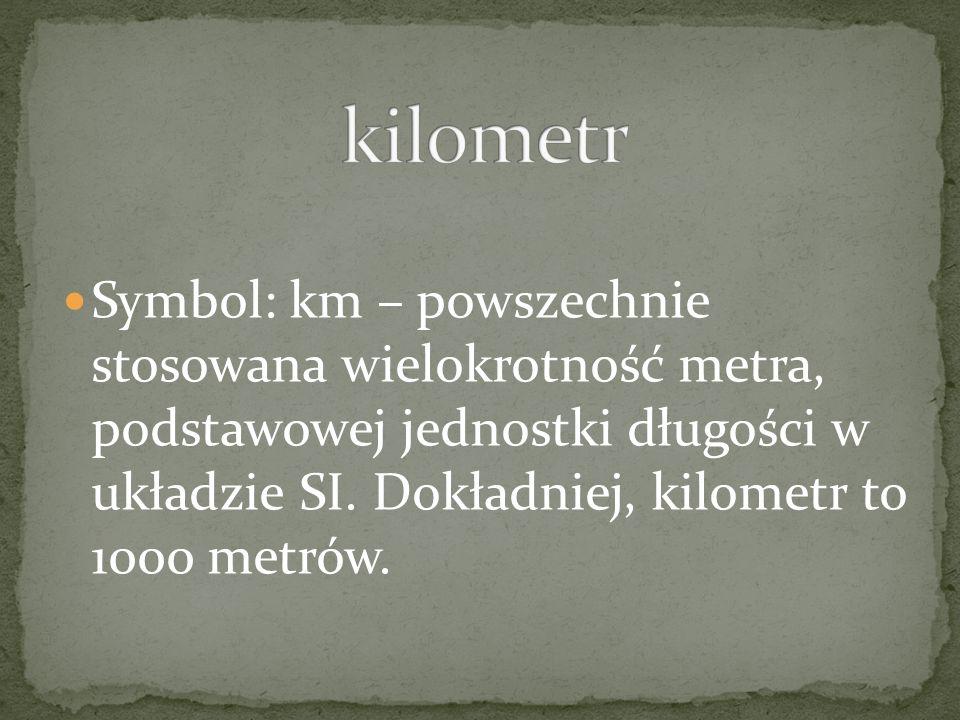 kilometr
