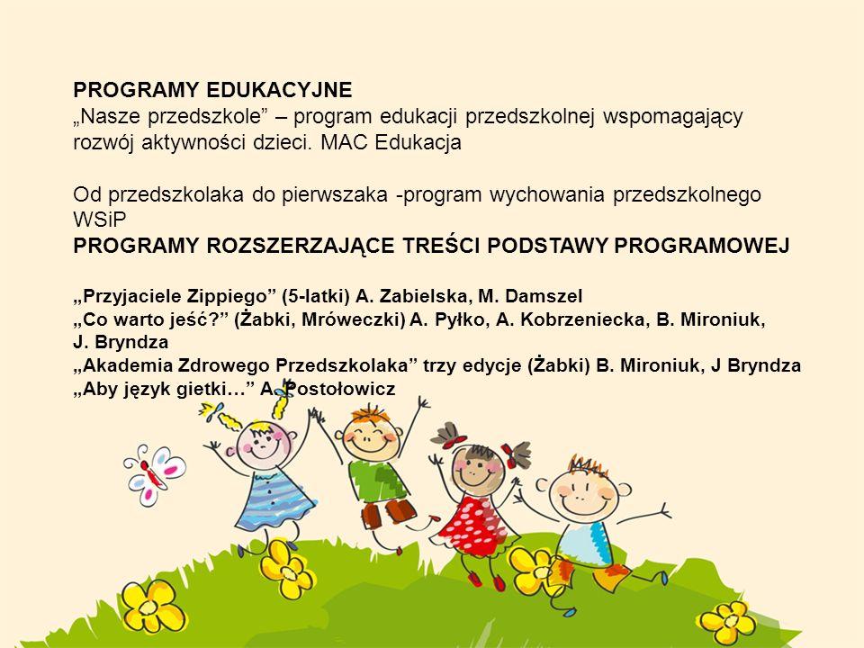 Od przedszkolaka do pierwszaka -program wychowania przedszkolnego WSiP