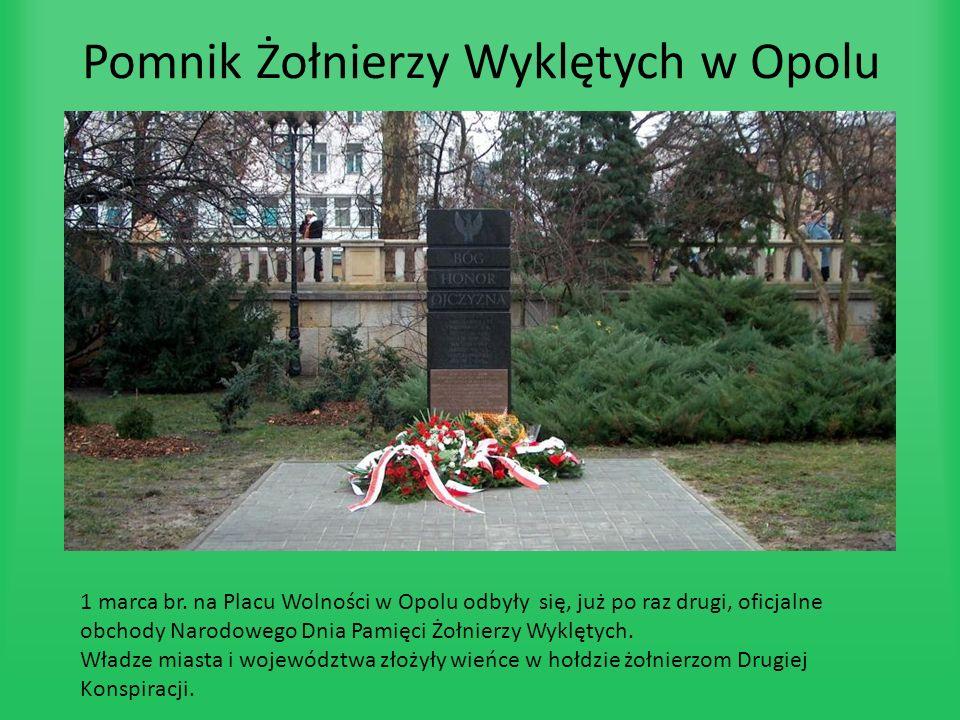 Pomnik Żołnierzy Wyklętych w Opolu