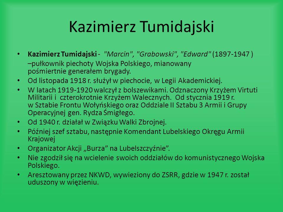 Kazimierz TumidajskiKazimierz Tumidajski - Marcin , Grabowski , Edward (1897-1947 )