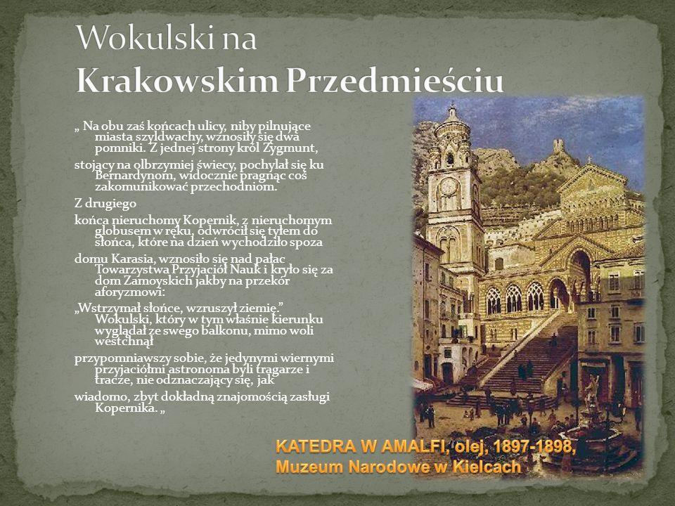 Wokulski na Krakowskim Przedmieściu