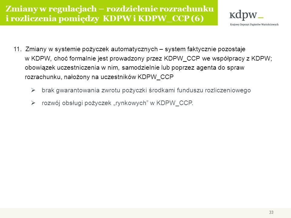 Zmiany w regulacjach – rozdzielenie rozrachunku i rozliczenia pomiędzy KDPW i KDPW_CCP (6)