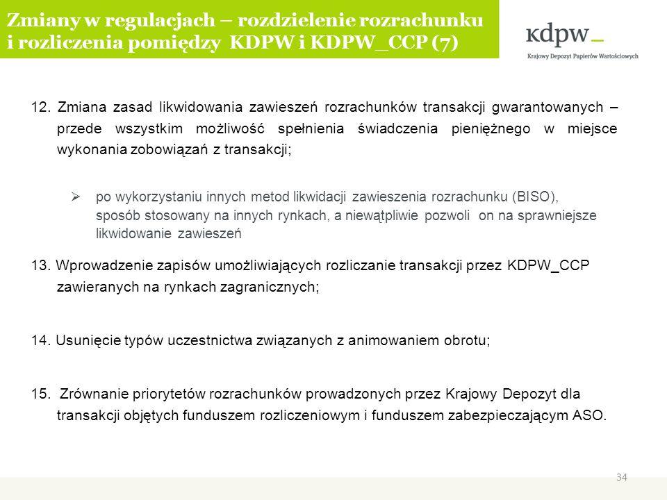 Zmiany w regulacjach – rozdzielenie rozrachunku i rozliczenia pomiędzy KDPW i KDPW_CCP (7)