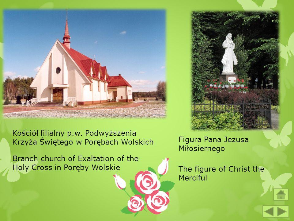 Kościół filialny p.w. Podwyższenia Krzyża Świętego w Porębach Wolskich