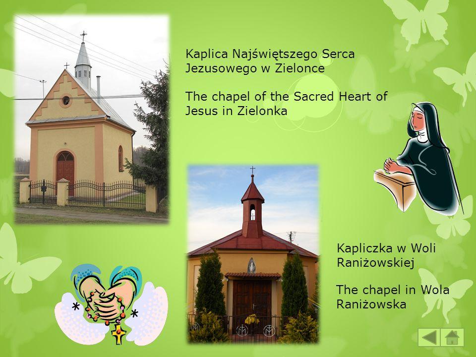 Kaplica Najświętszego Serca Jezusowego w Zielonce