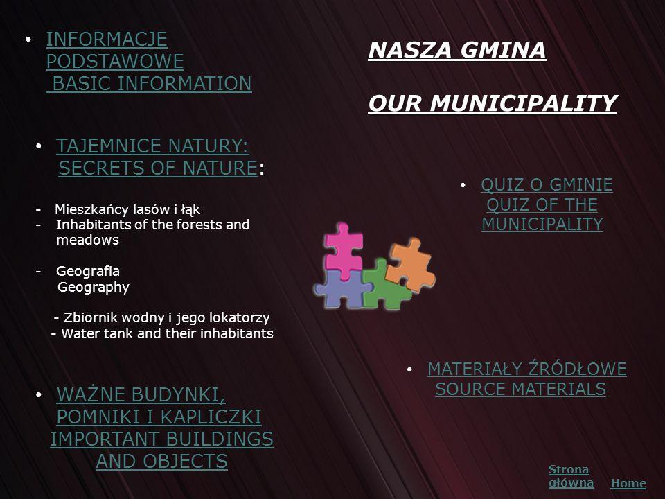 NASZA GMINA OUR MUNICIPALITY