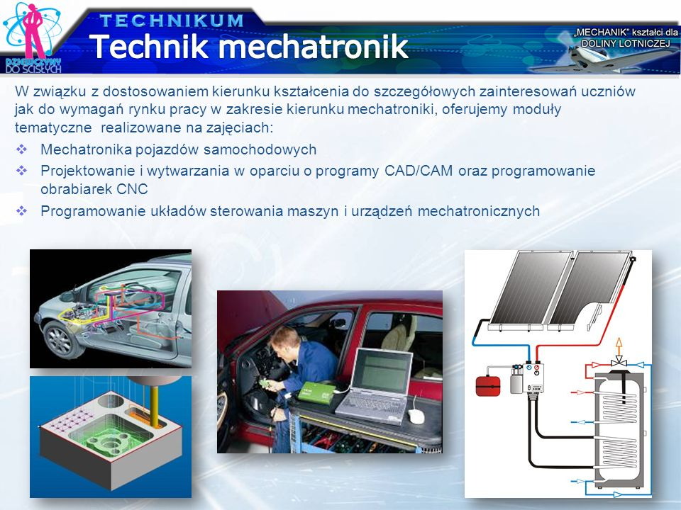 Technik mechatronik TECHNIKUM