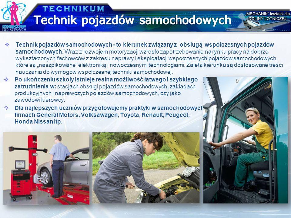 Technik pojazdów samochodowych