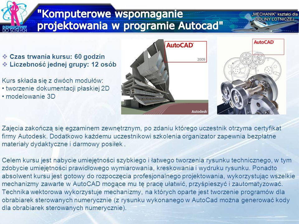Komputerowe wspomaganie projektowania w programie Autocad