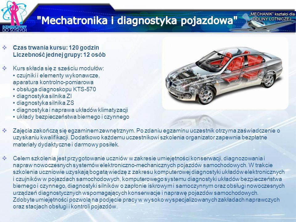 Mechatronika i diagnostyka pojazdowa