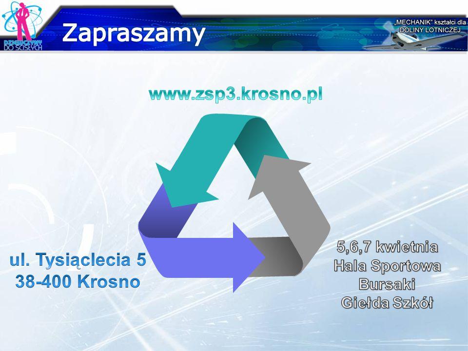 Zapraszamy www.zsp3.krosno.pl ul. Tysiąclecia 5 38-400 Krosno