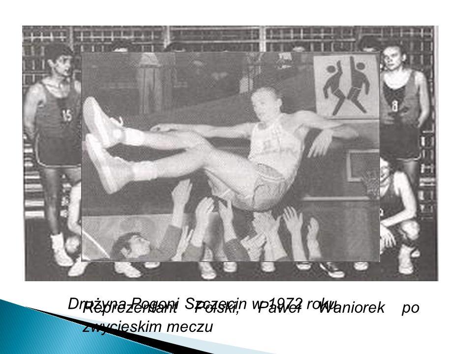 Drużyna Pogoni Szczecin w 1972 roku