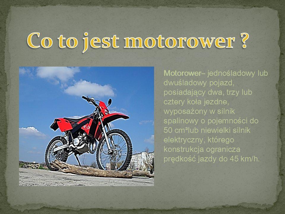 Co to jest motorower