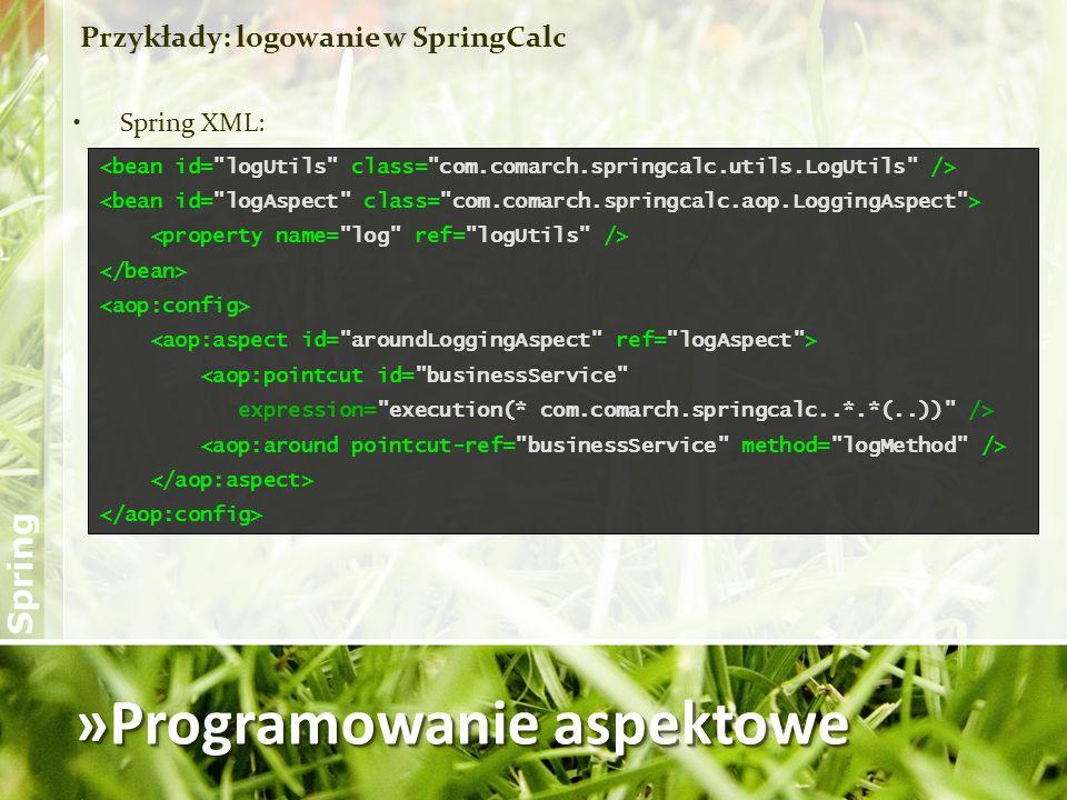 »Programowanie aspektowe