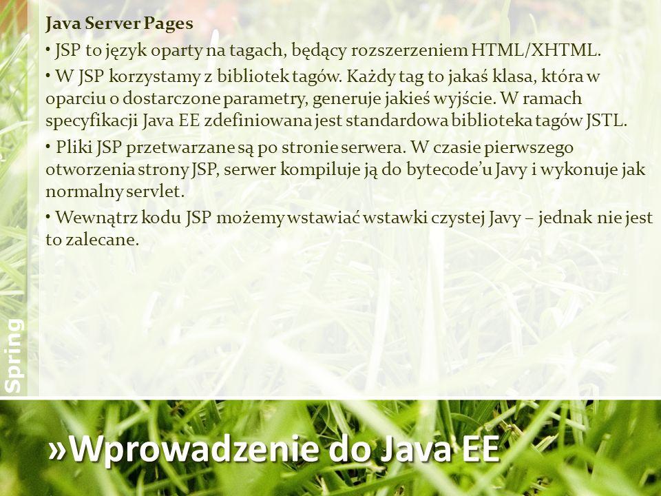 »Wprowadzenie do Java EE