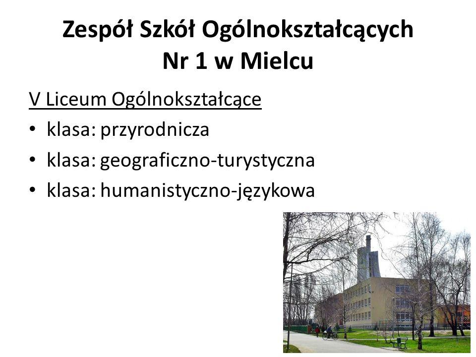 Zespół Szkół Ogólnokształcących Nr 1 w Mielcu