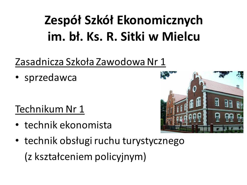 Zespół Szkół Ekonomicznych im. bł. Ks. R. Sitki w Mielcu