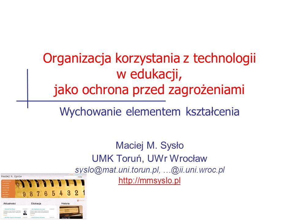 Organizacja korzystania z technologii w edukacji,