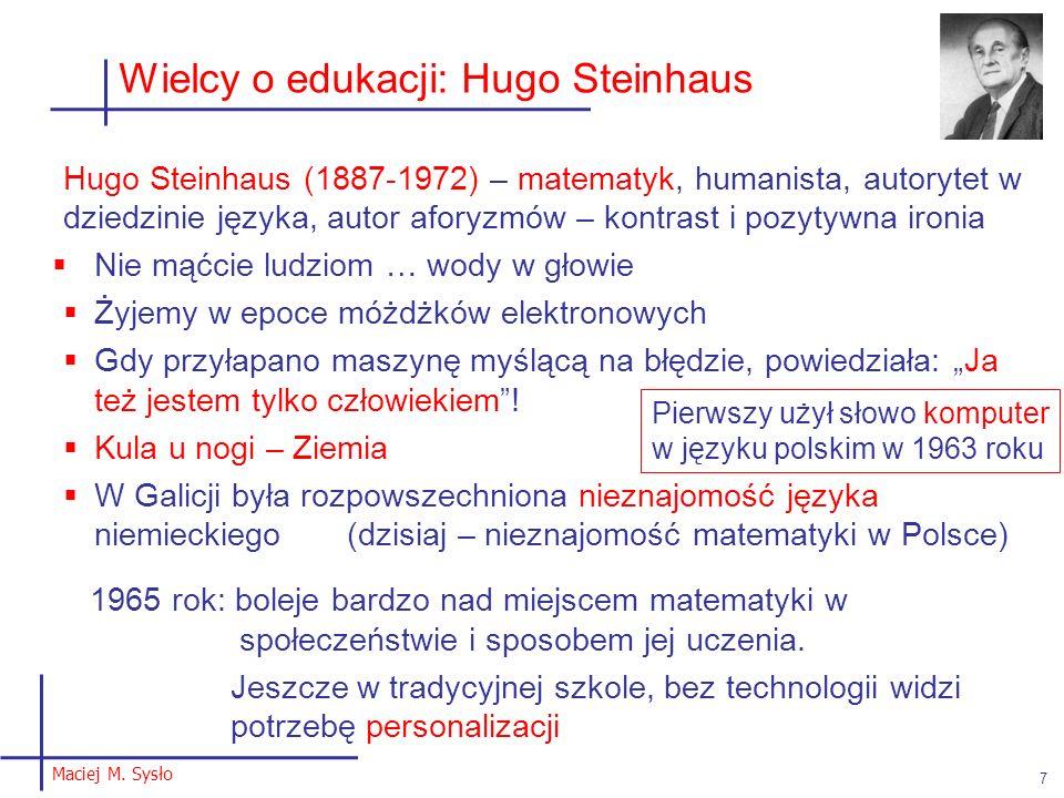 Wielcy o edukacji: Hugo Steinhaus