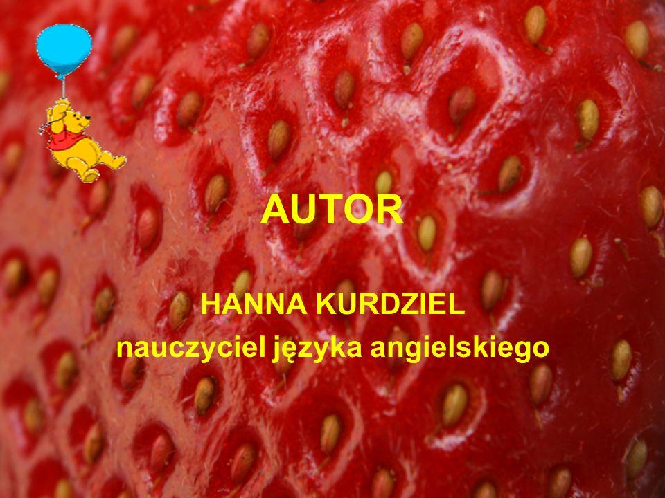 HANNA KURDZIEL nauczyciel języka angielskiego