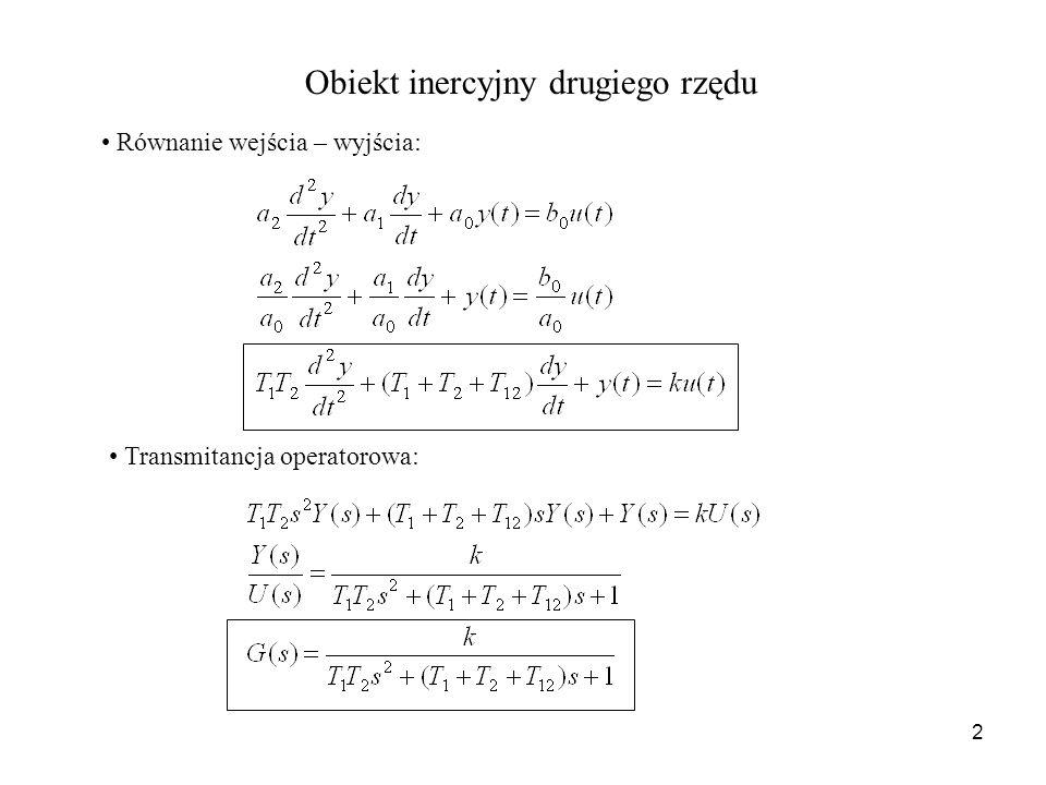 Obiekt inercyjny drugiego rzędu