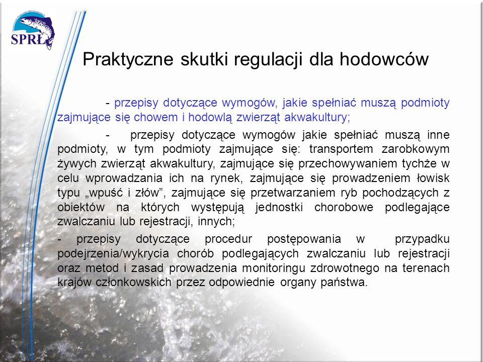 Praktyczne skutki regulacji dla hodowców