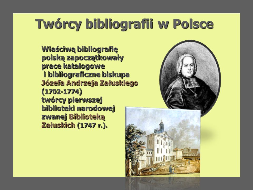 Twórcy bibliografii w Polsce