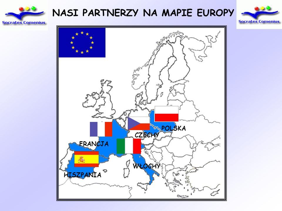 NASI PARTNERZY NA MAPIE EUROPY