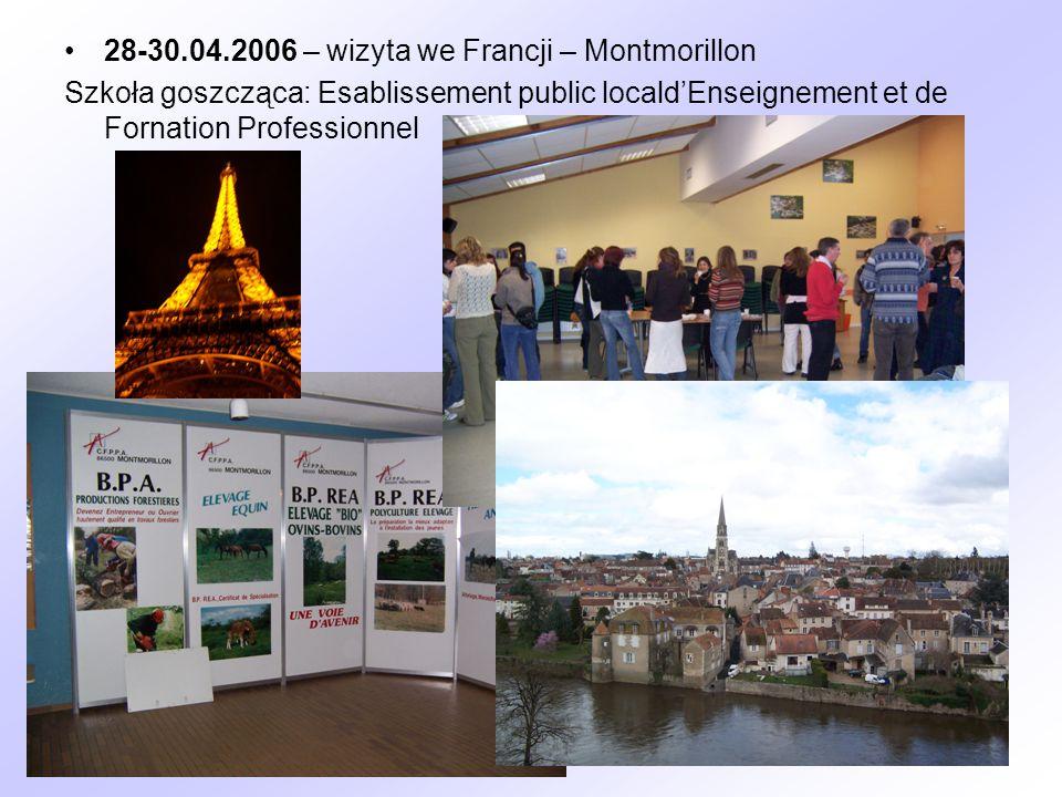 28-30.04.2006 – wizyta we Francji – Montmorillon