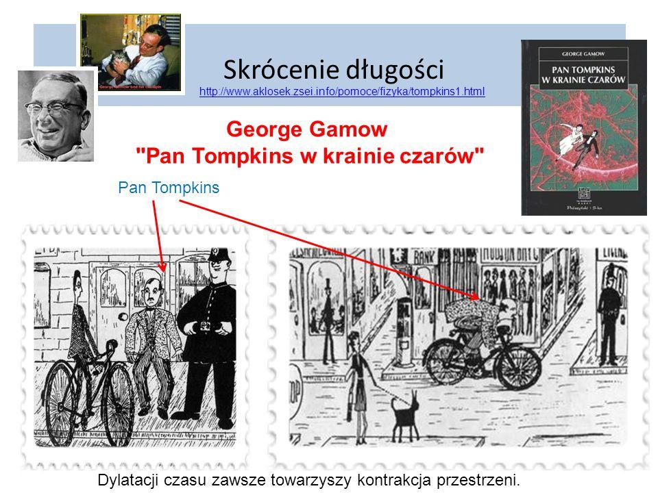 Skrócenie długości George Gamow Pan Tompkins w krainie czarów
