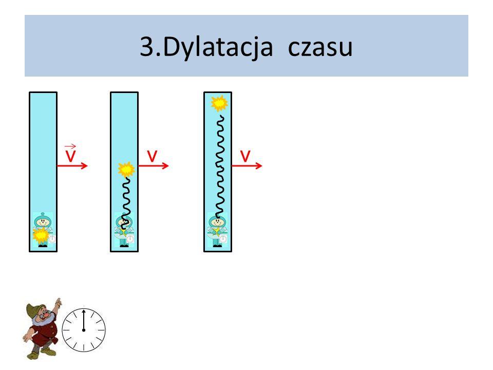 3.Dylatacja czasu v v v