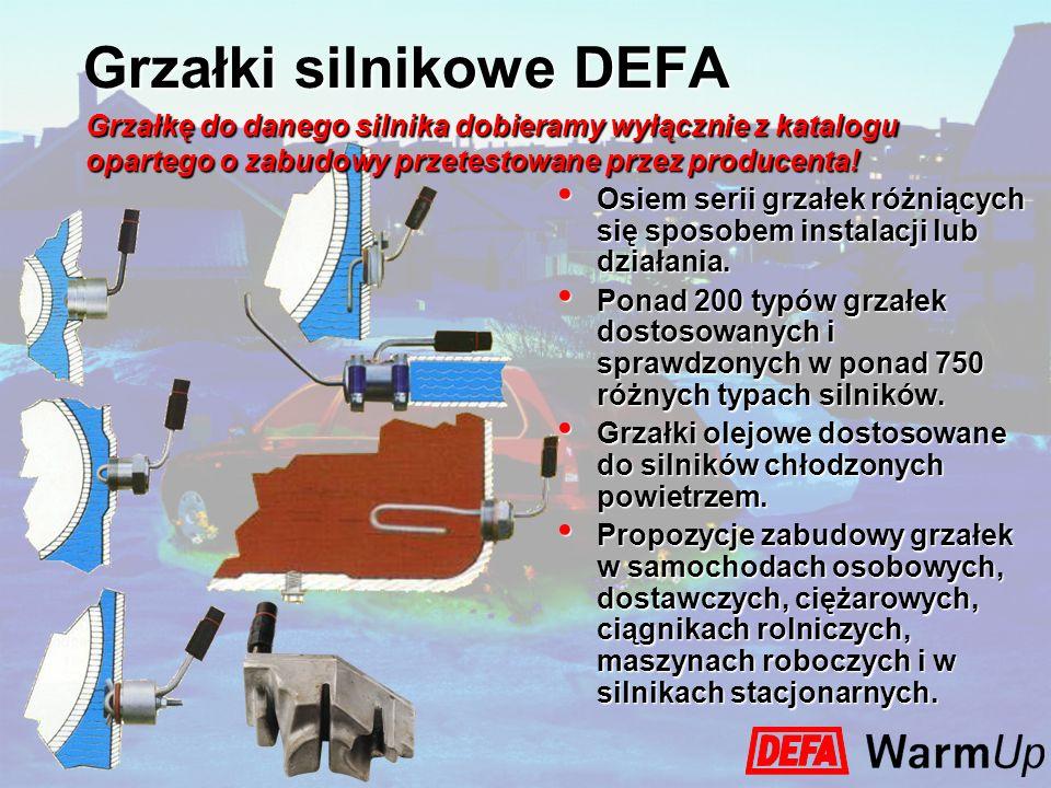 Grzałki silnikowe DEFA